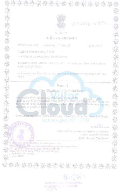 Company certification image