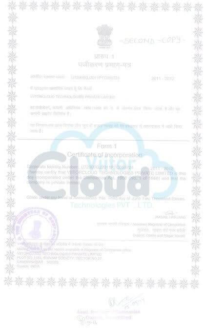 Company certification image