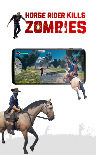 Horse Rider Kills Zombies